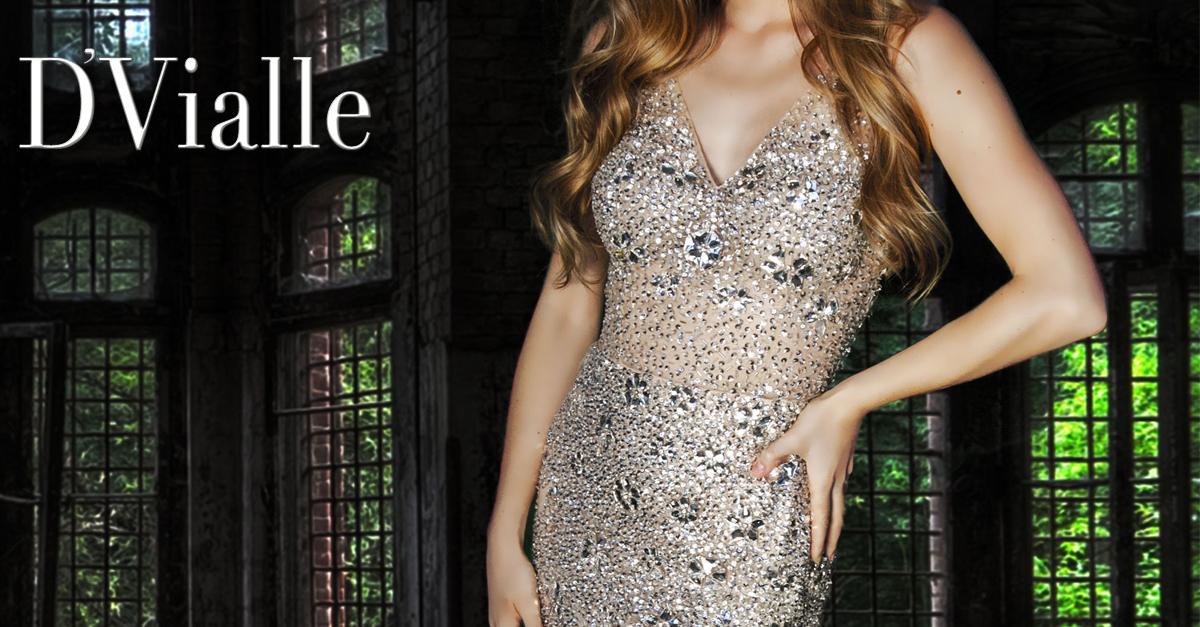 Coleção D'Vialle: Vestido sereia no tule